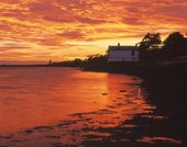 Fiery Sunset at Lepe 